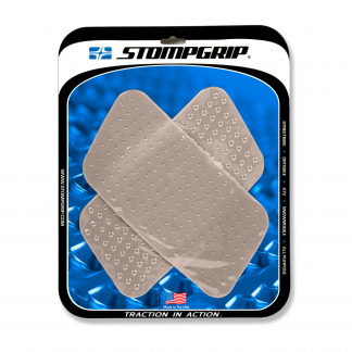 Stompgrip tank grips Volcona clear